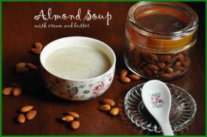 almond soup recipe