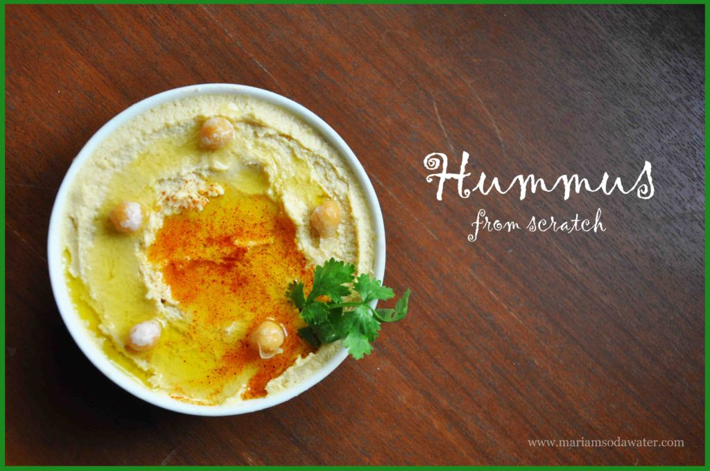Hummus recipe without tahini
