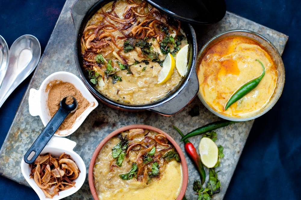 Mutton Haleem recipe is ready to serve.