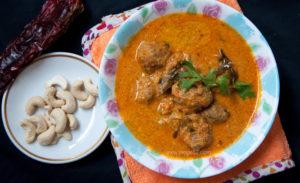 Pakistani red kofta curry