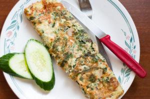 keto spinach Omelette Recipe blog (1 of 1)