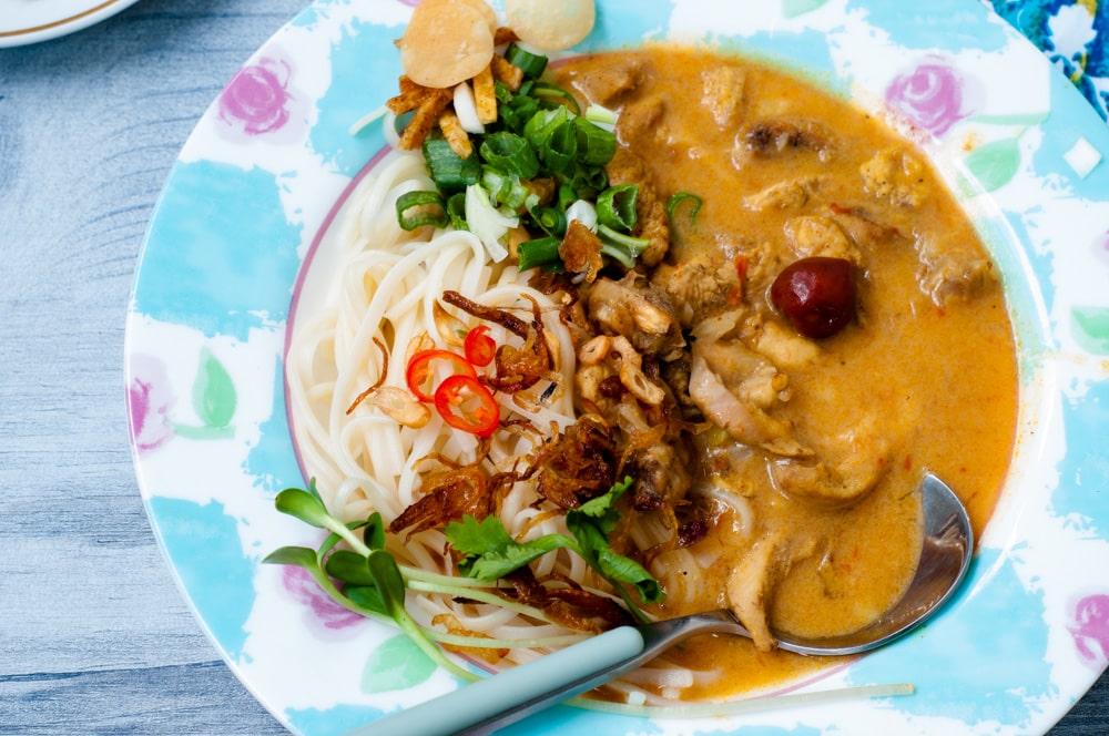 chicken khao suey recipe