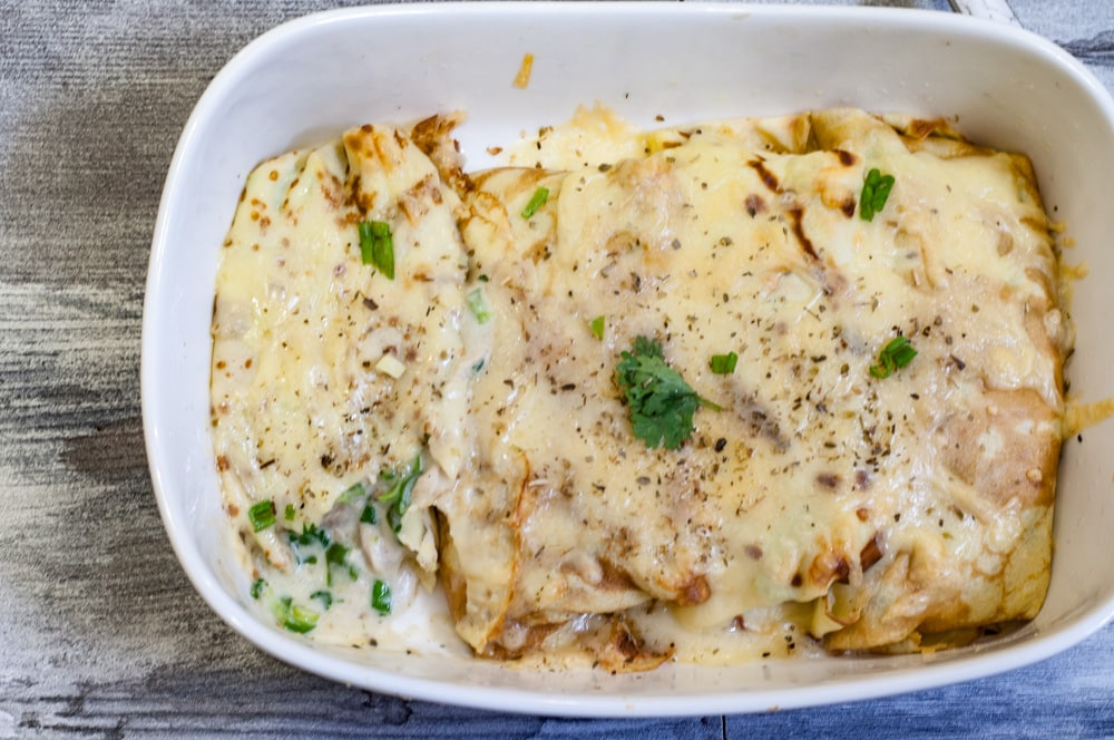 Chicken Crepes recipe