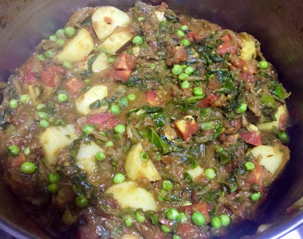 gravy for vegetable biryani